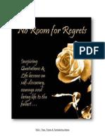 No Room for Regrets - Self Help [Marquita Herald]