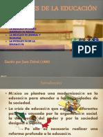 Los Fines de La Edu. Cap 1,2 y 3.