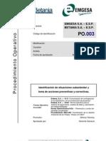 2. Procedimiento PO. 003