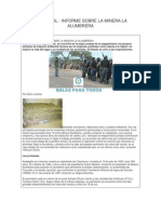 Informe Del Agua en Alumbrera