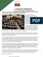 Imprimir - Así se cocinó la reforma tributaria