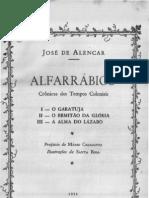Prefácio Alfarrábios