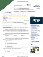Clasificación e identificación de los electrodos
