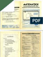 Matematica Valcea februarie 1990