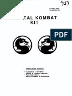 Mortal Kombat [Operations] [English]