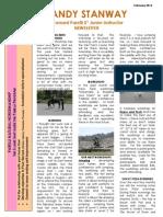 Sandy's Newsletter Feb 2013