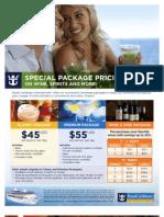 Royal Caribbean 2013 Beverage Packages