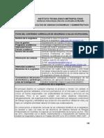 (1) Ficha Académica de la Asignatura S&SO (GoNaBe)