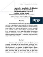 Ocorrência e período reprodutivo de Eleotris pisonis