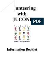 Volunteer Information Booklet 2011
