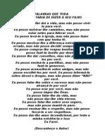PALAVRAS QUE TODA Mae Gostaria de Dizer Ao Filho
