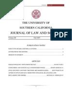 2007 JLS Volume 3 Issue 1