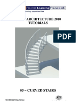 Creating Curved Stairs in Revit