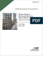Seismic Design of Reinforced Concrete SMRF