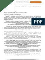 Direito_Constitucional - apontamentos