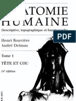 Anatomie Humaine ROUVIÈRE