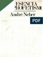 André Neher, La esencia del profetismo.pdf