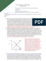 Marked Economics Essay