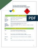 Tarjeta de Emergencia Crudo c&c