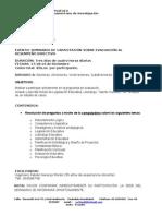 Seminario evaluacion Rectores