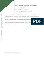 Extending Hamilton's principle to quantize classical fields