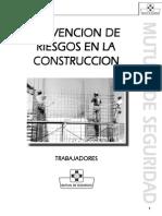 Manual - Prevencion de Riesgos en La Construccion