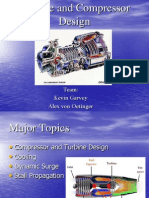 Turbine and Compressor Design
