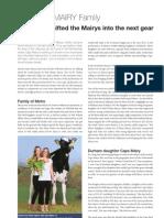 Hotspots Family Report - CAPS Mairy