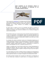 La normativa española reguladora de los desahucios vulnera la legislación comunitaria al no garantizar la protección de los consumidores frente a posibles cláusulas abusivas