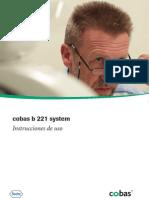Manual Usuario Cobas b221
