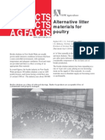 Alternative Litter Materials for Poultry