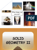 Solid Geometry II - Slide