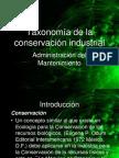 taxonomiadelaconservacionindustrial-110913230048-phpapp01