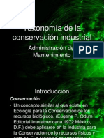 taxonomiadelaconservacionindustrial-110913230048-phpapp01