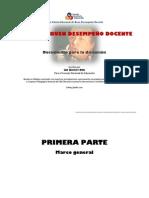 MARCO DE BUEN DESEMPEÑO DOCENTE [version corregida, revisada y final al 28 Jun] Luis Guerrero
