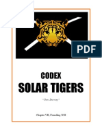 fan codex solar tigers
