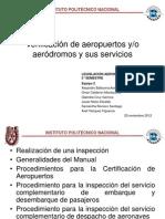 Verificacion de Aerodromos