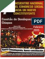 Resolutivos Del Vii Encuentro Nacional Del Congreso Social Chiapas