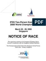 2008 IFDS 2-person Keelboat World Championships NOR, SIN