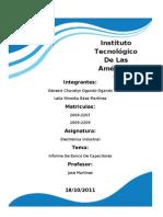 Informe De Electrónica Industrial