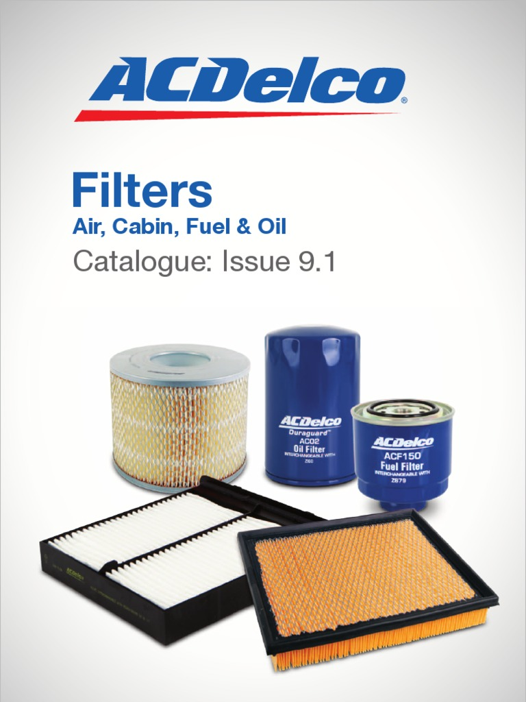 Catalogue Acdelco Filters Clk320 Fuel Filter
