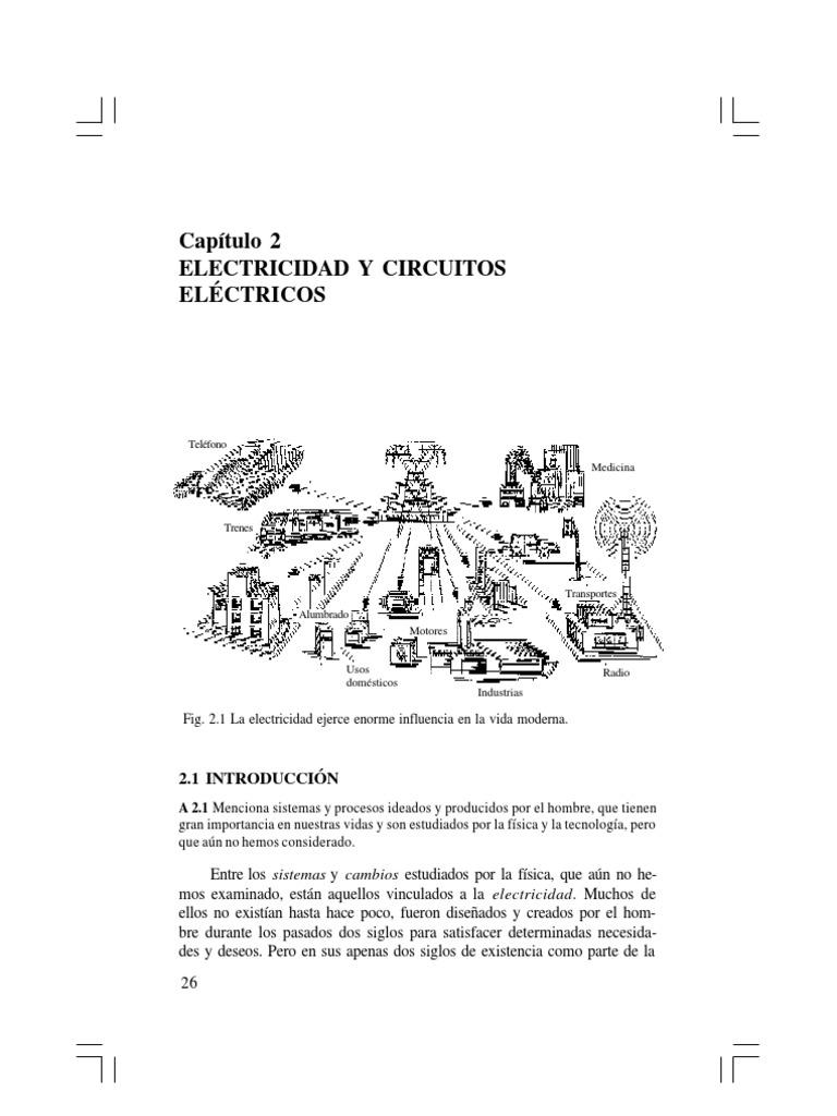 Circuito Que Recorre La Electricidad Desde Su Generación Hasta Su Consumo : Electricidad y circuitos