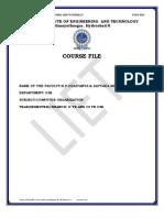 Demo Course File
