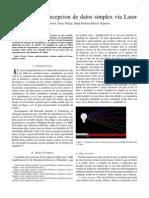 Transmisión de datos via laser