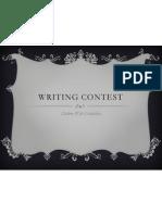 writing contest 2013
