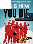 THIS IS HOW YOU DIE - Preview Story 1 - OLD AGE, SURROUNDED BY LOVED ONES