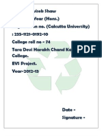 solid waste project