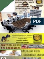DISEÑO ESTRATEGIAS DE INFLUENCIA EN EL COMPORTAMIENTO DEL CONSUMIDOR JOSE CARBALLO SEMANA 4 SEMESTRE 2 SECCION 2A