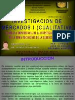 Importancia de Investigacion de Mercado Jose Carballo