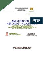 Investigacion de Mercado I Cualitativa Blogs Comprende